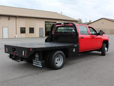 2019 Silverado 3500 Crew Cab DRW 4x4,  Commercial Truck & Van Equipment Gooseneck Platform Body #19C35T - photo 2