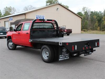 2019 Silverado 3500 Crew Cab DRW 4x4,  Commercial Truck & Van Equipment Gooseneck Platform Body #19C35T - photo 8