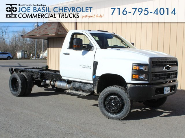 2019 Silverado Medium Duty Regular Cab DRW 4x4, Cab Chassis #19C364T - photo 1
