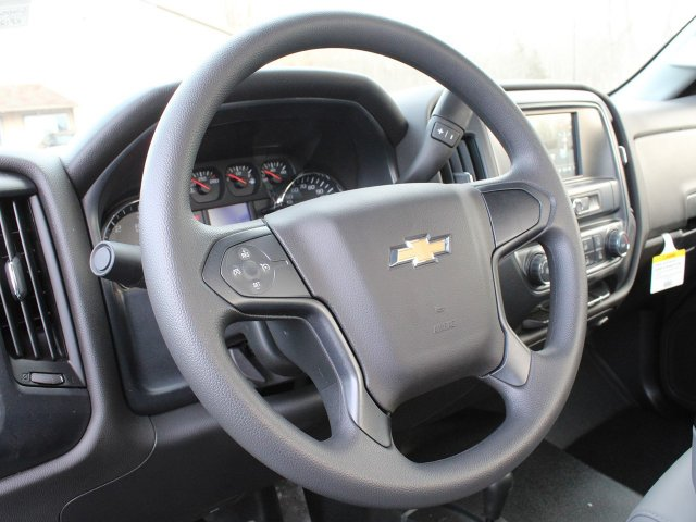 2019 Silverado 3500 Regular Cab DRW 4x4,  Reading Steel Stake Bed #19C36T - photo 14