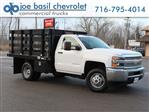 2019 Silverado 3500 Regular Cab DRW 4x4,  Reading Stake Bed #19C36T - photo 1