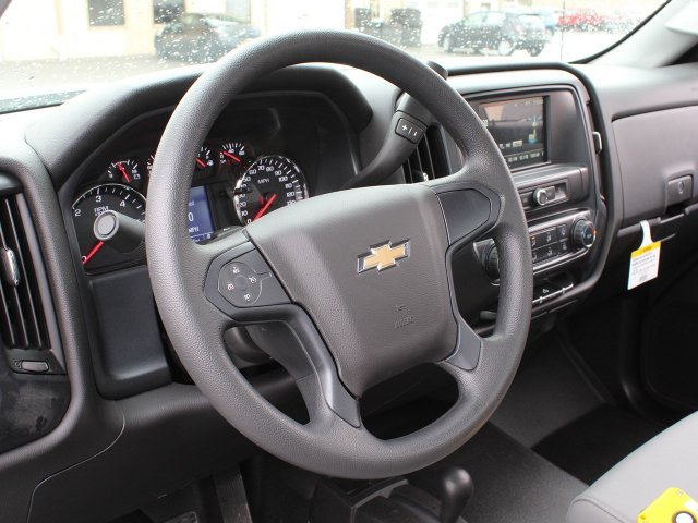 2019 Silverado 3500 Regular Cab DRW 4x4,  Reading Stake Bed #19C37T - photo 24