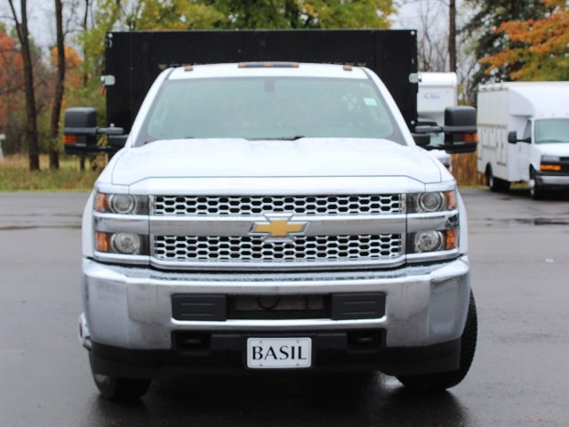 2019 Silverado 3500 Regular Cab DRW 4x4,  Reading Stake Bed #19C37T - photo 5