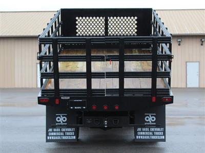 2019 Silverado 3500 Regular Cab DRW 4x4,  Reading Steel Stake Bed #19C37T - photo 19