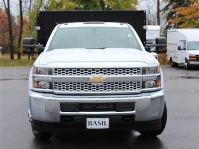 2019 Silverado 3500 Regular Cab DRW 4x4,  Reading Steel Stake Bed #19C37T - photo 5