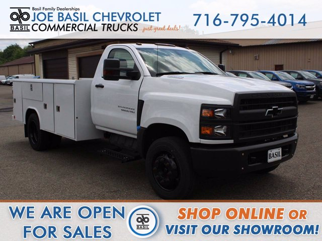 2019 Chevrolet Silverado 5500 Regular Cab DRW RWD, Reading Service Body #19C392TD - photo 1