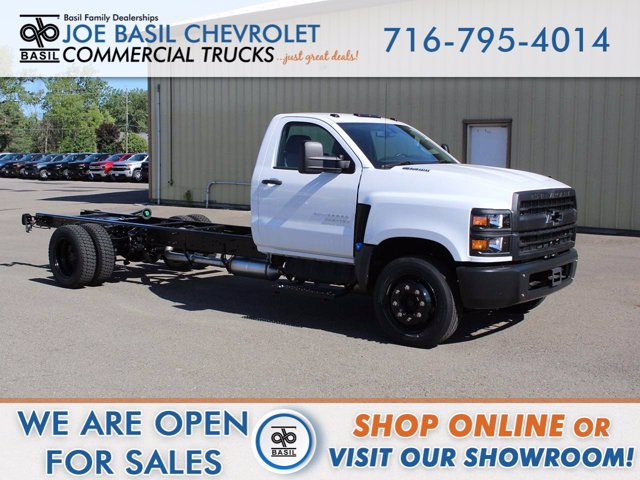 2019 Chevrolet Silverado 5500 Regular Cab DRW RWD, Cab Chassis #19C393TD - photo 1