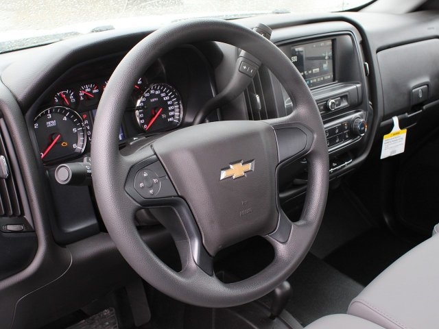 2019 Silverado 3500 Regular Cab DRW 4x4,  Rugby Stake Bed #19C39T - photo 19
