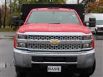 2019 Silverado 3500 Regular Cab DRW 4x4,  Rugby Series 2000 Stake Bed #19C41T - photo 5