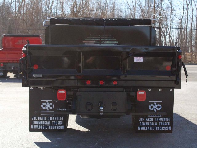 2019 Silverado 3500 Regular Cab DRW 4x4,  Crysteel E-Tipper Dump Body #19C42T - photo 10