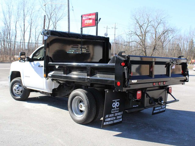 2019 Silverado 3500 Regular Cab DRW 4x4,  Crysteel E-Tipper Dump Body #19C42T - photo 12