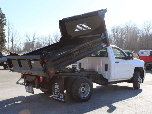 2019 Silverado 3500 Regular Cab DRW 4x4,  Crysteel E-Tipper Dump Body #19C42T - photo 15