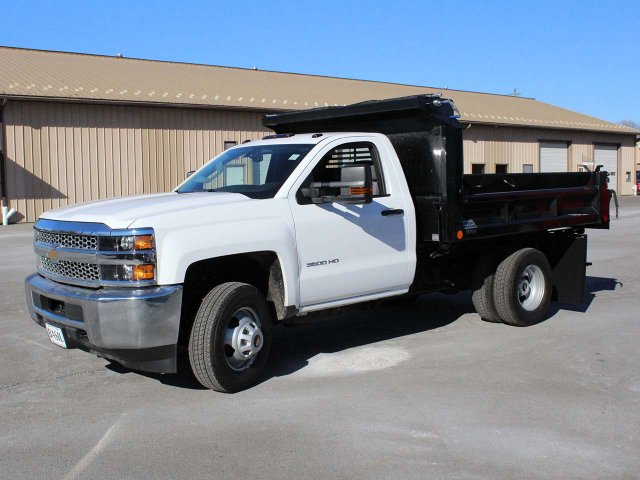 2019 Silverado 3500 Regular Cab DRW 4x4,  Crysteel E-Tipper Dump Body #19C42T - photo 3