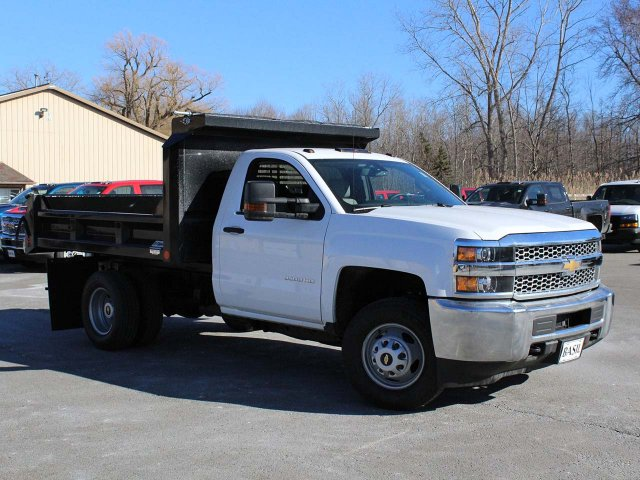 2019 Silverado 3500 Regular Cab DRW 4x4,  Crysteel E-Tipper Dump Body #19C42T - photo 27
