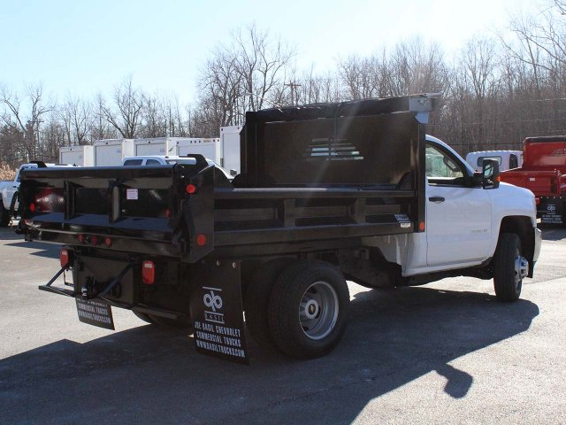 2019 Silverado 3500 Regular Cab DRW 4x4,  Crysteel E-Tipper Dump Body #19C42T - photo 2