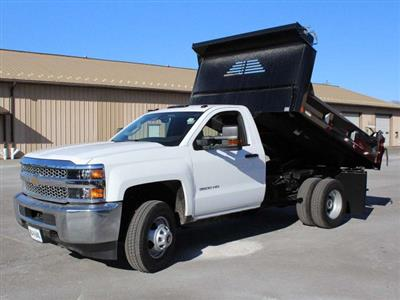 2019 Silverado 3500 Regular Cab DRW 4x4,  Crysteel E-Tipper Dump Body #19C42T - photo 14