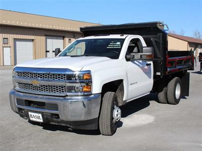 2019 Silverado 3500 Regular Cab DRW 4x4,  Crysteel E-Tipper Dump Body #19C42T - photo 5
