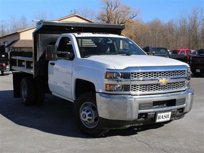 2019 Silverado 3500 Regular Cab DRW 4x4,  Crysteel E-Tipper Dump Body #19C42T - photo 7
