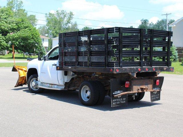 2010 Silverado 3500 Regular Cab 4x4,  Stake Bed #19C42TU - photo 10