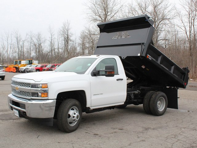 2019 Silverado 3500 Regular Cab DRW 4x4,  Crysteel Dump Body #19C43T - photo 14