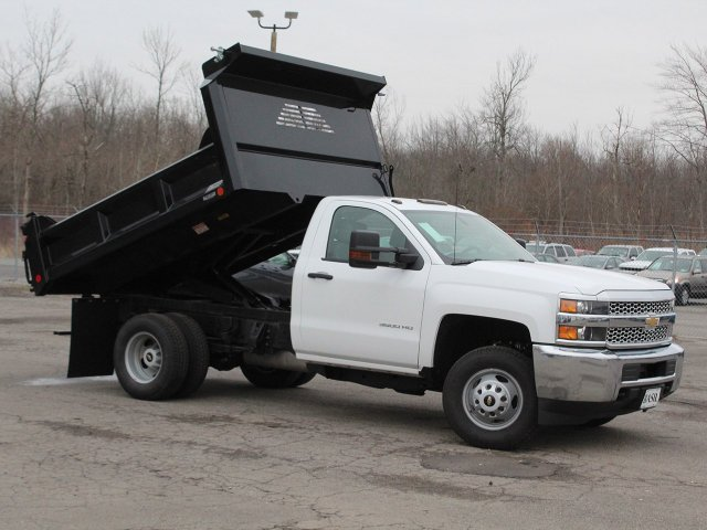 2019 Silverado 3500 Regular Cab DRW 4x4,  Crysteel Dump Body #19C43T - photo 15