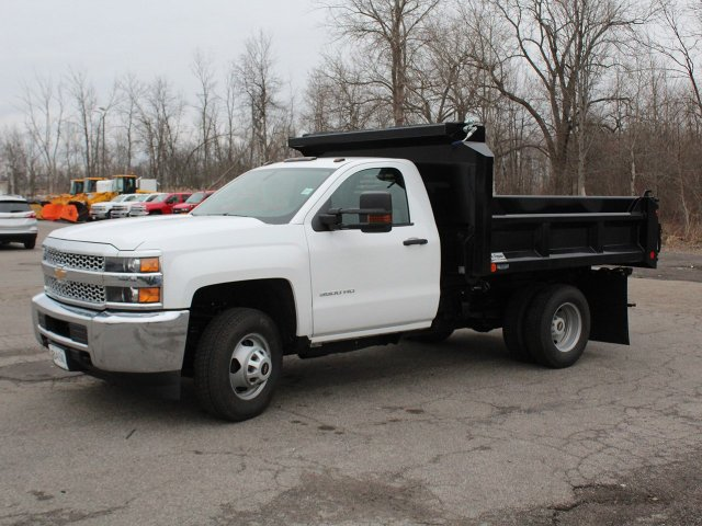 2019 Silverado 3500 Regular Cab DRW 4x4,  Crysteel Dump Body #19C43T - photo 3