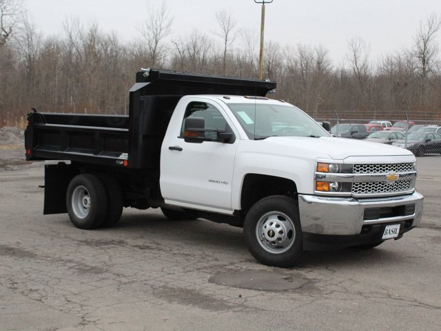 2019 Silverado 3500 Regular Cab DRW 4x4,  Crysteel Dump Body #19C43T - photo 28
