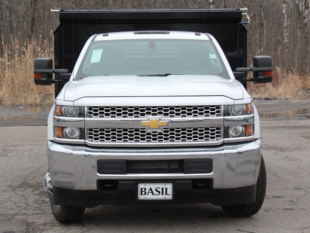 2019 Silverado 3500 Regular Cab DRW 4x4,  Crysteel Dump Body #19C43T - photo 5