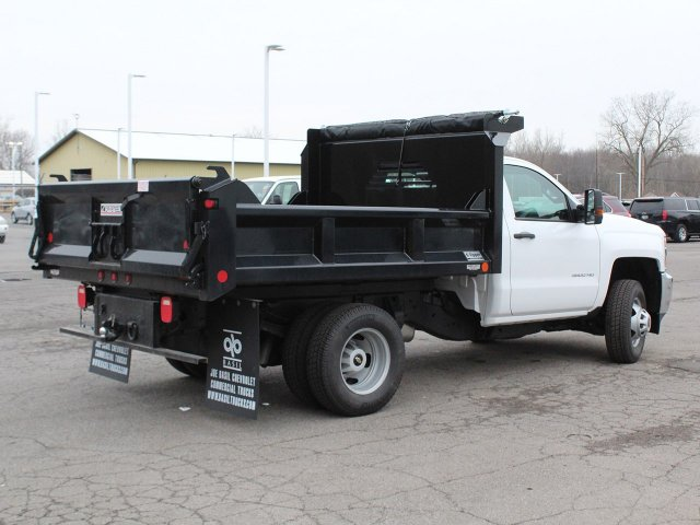 2019 Silverado 3500 Regular Cab DRW 4x4,  Crysteel Dump Body #19C43T - photo 2