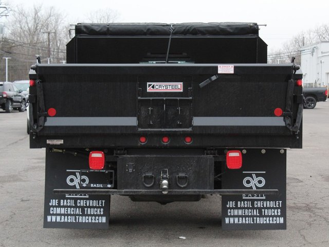2019 Silverado 3500 Regular Cab DRW 4x4,  Crysteel Dump Body #19C43T - photo 6