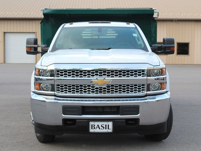 2019 Silverado 3500 Regular Cab DRW 4x4,  Crysteel Dump Body #19C44T - photo 5