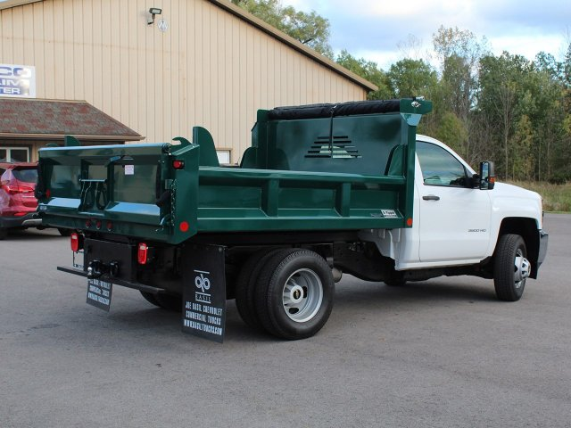 2019 Silverado 3500 Regular Cab DRW 4x4,  Crysteel Dump Body #19C44T - photo 2