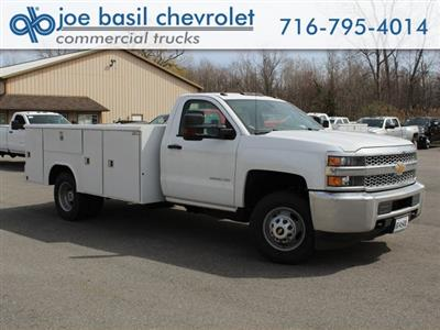 2019 Silverado 3500 Regular Cab DRW 4x4,  Reading Classic II Steel Service Body #19C47T - photo 1