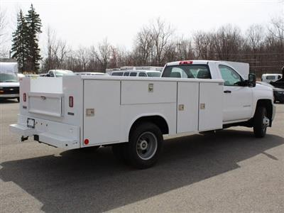 2019 Silverado 3500 Regular Cab DRW 4x4,  Reading Classic II Steel Service Body #19C47T - photo 2