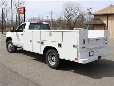 2019 Silverado 3500 Regular Cab DRW 4x4,  Reading Classic II Steel Service Body #19C47T - photo 18