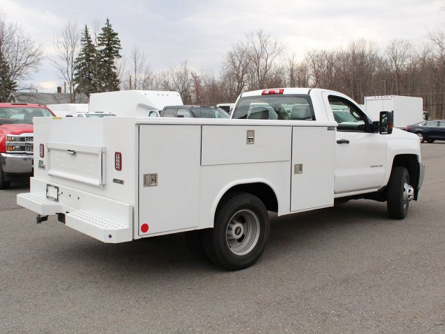 2019 Silverado 3500 Regular Cab DRW 4x4,  Reading Service Body #19C49T - photo 2