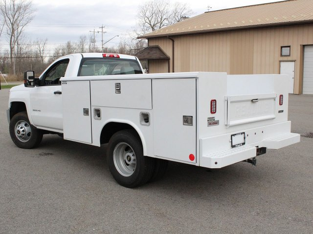 2019 Silverado 3500 Regular Cab DRW 4x4,  Reading Service Body #19C49T - photo 17