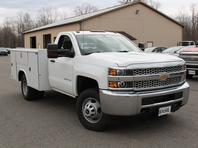 2019 Silverado 3500 Regular Cab DRW 4x4,  Reading Service Body #19C49T - photo 7