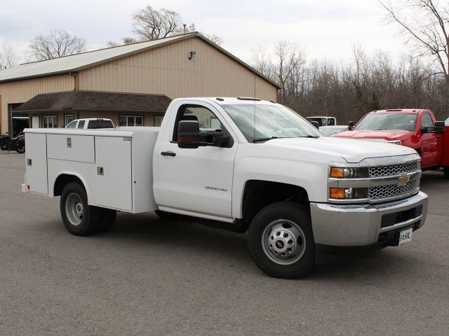 2019 Silverado 3500 Regular Cab DRW 4x4,  Reading Service Body #19C49T - photo 9