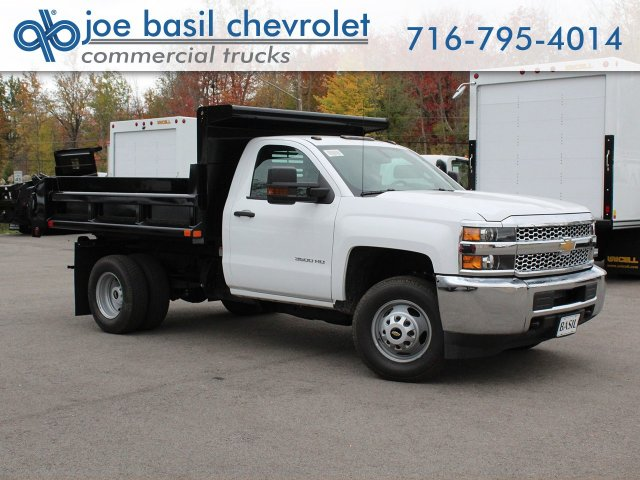 2019 Silverado 3500 Regular Cab DRW 4x4,  Air-Flo Pro-Class Dump Body #19C52T - photo 1