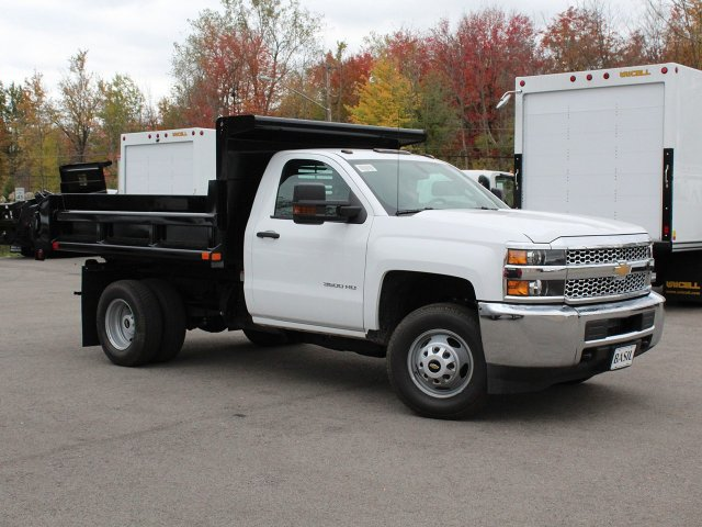 2019 Silverado 3500 Regular Cab DRW 4x4,  Air-Flo Dump Body #19C52T - photo 26