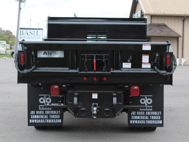 2019 Silverado 3500 Regular Cab DRW 4x4,  Air-Flo Dump Body #19C52T - photo 6