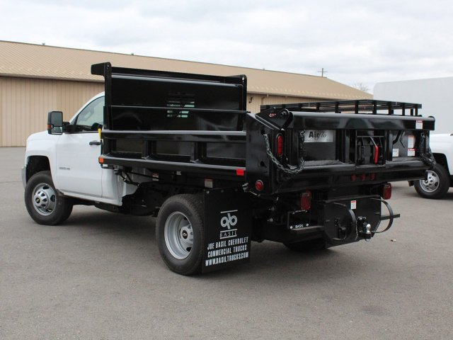 2019 Silverado 3500 Regular Cab DRW 4x4,  Air-Flo Pro-Class Dump Body #19C52T - photo 8