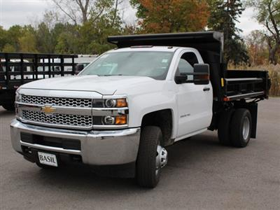 2019 Silverado 3500 Regular Cab DRW 4x4,  Air-Flo Pro-Class Dump Body #19C52T - photo 9