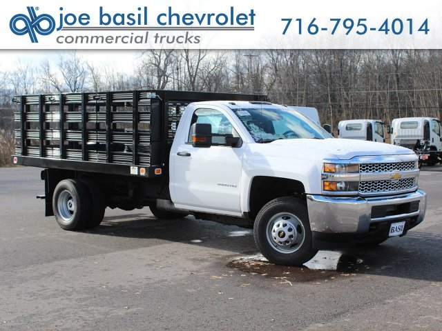 2019 Silverado 3500 Regular Cab DRW 4x2,  Knapheide Value-Master X Stake Bed #19C63T - photo 1