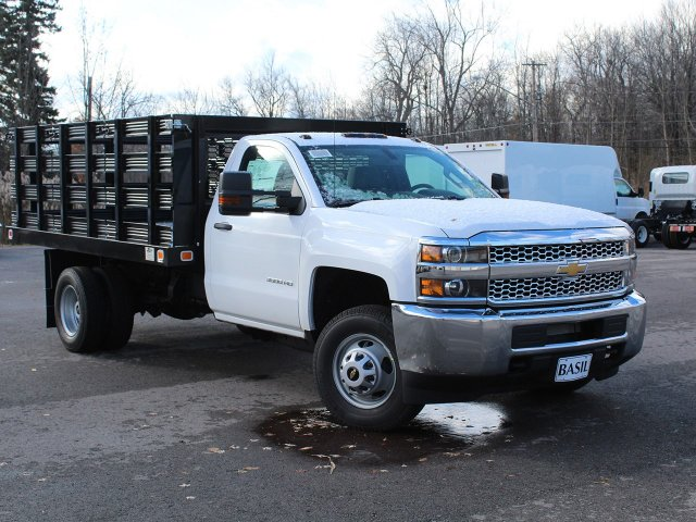 2019 Silverado 3500 Regular Cab DRW 4x2,  Knapheide Stake Bed #19C63T - photo 10