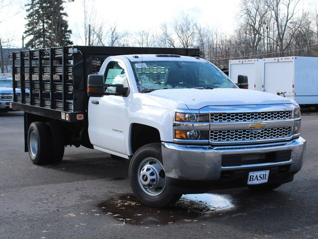 2019 Silverado 3500 Regular Cab DRW 4x2,  Knapheide Stake Bed #19C63T - photo 12