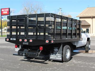 2019 Silverado 3500 Regular Cab DRW 4x2,  Knapheide Value-Master X Stake Bed #19C63T - photo 2
