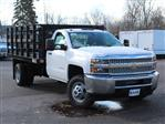 2019 Silverado 3500 Regular Cab DRW 4x2,  Knapheide Value-Master X Stake Bed #19C63T - photo 12