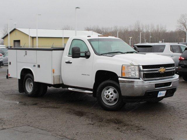2011 Silverado 3500 Regular Cab 4x4,  Service Body #19C66TU - photo 1